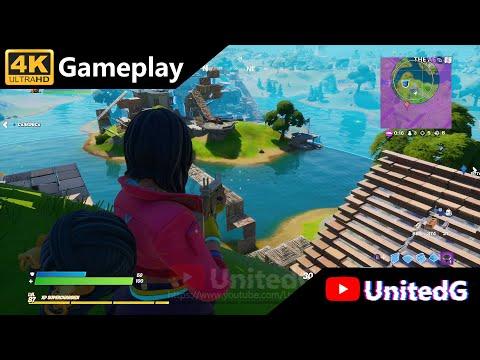 Fortnite - Xbox One X Gameplay 4K