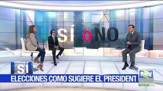 Sí o No: responden Andrea Ramírez y Fernando Posada