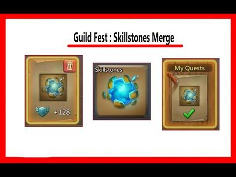 Guild Fest : Merge Skillstones Task.