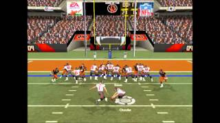 Tigers vs Buccaneers Week 1 [Full Game] Madden 2004
