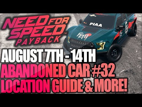Need For Speed Payback Abandoned Car #32 - Location Guide + Gameplay - Faith Jones Ford F-150 Raptor