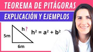 Teorema de Pitágoras   Explicación y Ejemplos
