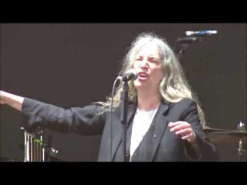 Patti Smith - Horses/Gloria Live in Dublin 06/06/2018