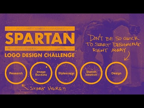 🔴 Logo Design Process— Live feat. Spartan Logo Design Challenge