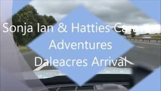 Daleacres Caravan & Motorhome Club Site Arrival