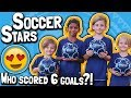 Soccer Stars 😍 // Who scored 6 goals?! // Child Scores 3 Goals in 3 Minutes