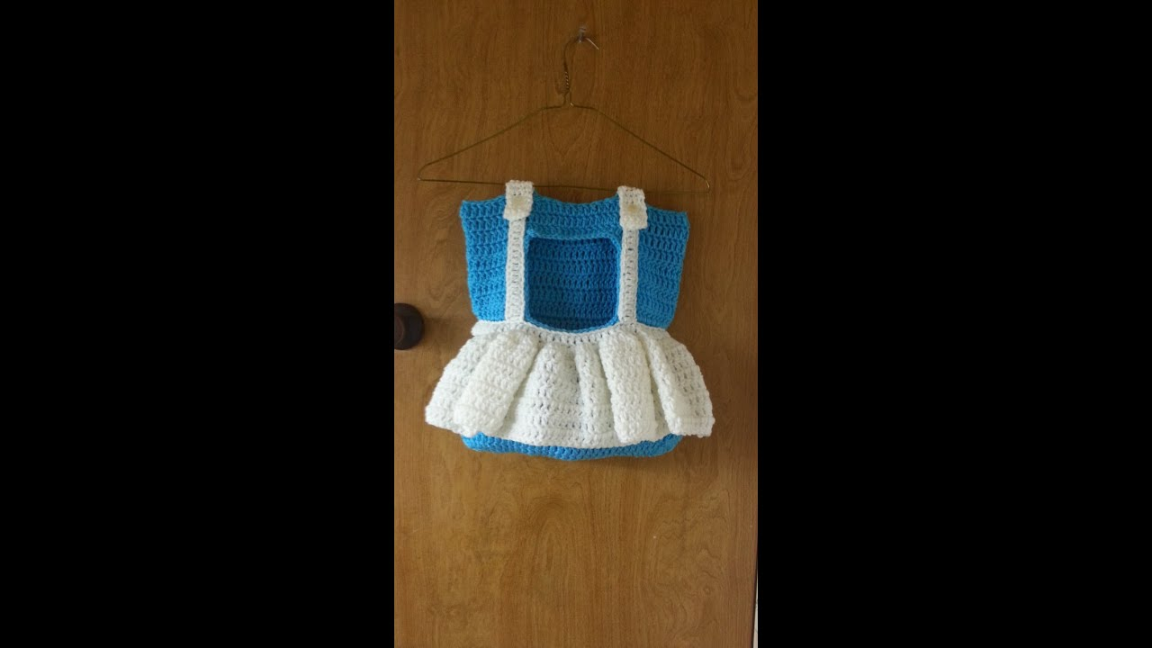 Free Crochet Pattern For Clothespin Bag : CROCHET How To #Crochet Clothes pin Bag - Dress Bag ...