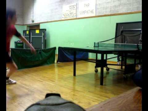S bastien guissard entrainement robot ping tennis de table - Robot tennis de table occasion ...