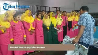 Download Video Siswa SMK Akbar Kunjungi Tribun Pekanbaru MP3 3GP MP4