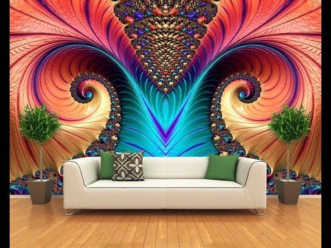 3D Wallpaper for wall designs (AS Royal Decor) - YouTube