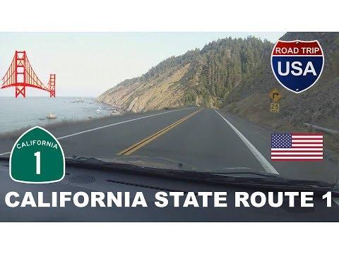CALIFORNIA  STATE ROUTE 1 ~ USA ROAD TRIP #2