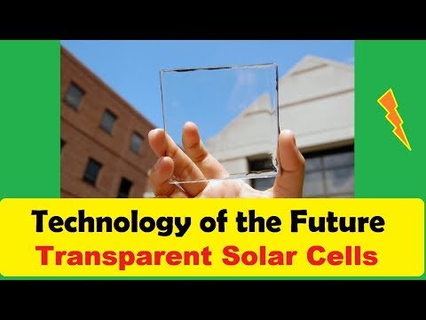 Highly Transparent Solar Cells