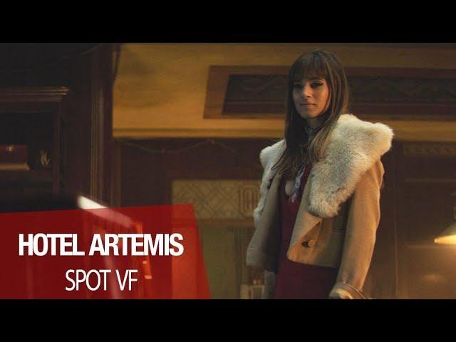 HOTEL ARTEMIS avec Jodie Foster,  Sofia Boutella et Dave Bautista