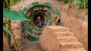 Build Most  Beautiful Hidden Villa By Ancient Skills