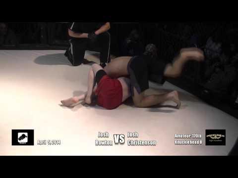 170lb  Josh Rowton vs Josh Christenson