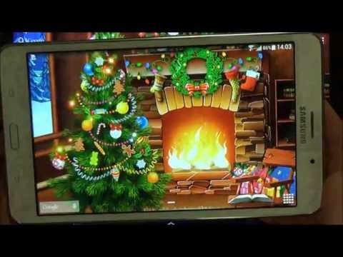 Christmas Live Wallpaper For Android Phones And Tablets