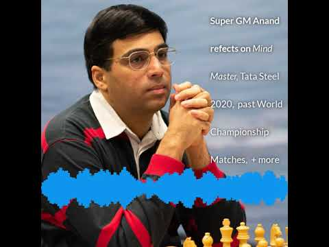 Legend Of The Chessboard, GM Vishy Anand On His Career And His Excellent New Book, Mind Master.
