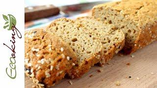 Хлеб из зеленой гречки /без глютена / без муки / без дрожжей / ПП