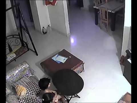 CCTV footage of earthquake of 13th floor on 13th April dhaka bangladesh