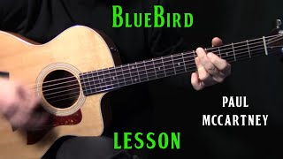 """how to play """"Bluebird"""" on guitar by Paul McCartney 