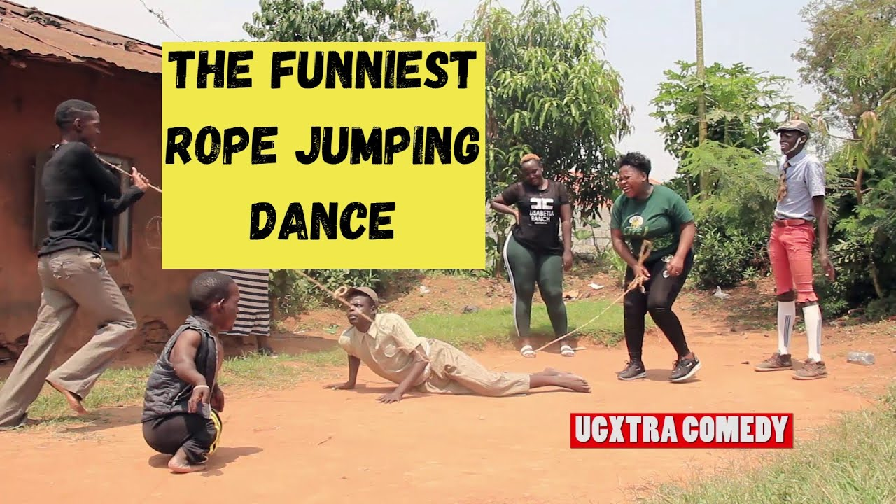 FUNNIEST ROPE JUMPING DANCE  Ugxtra Comedy Team  Latest African Comedy 2020 HD