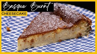 Basque Burnt Cheesecake Homemade