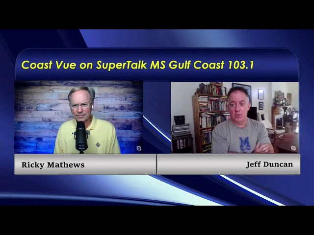 Jeff Duncan, from NOLA.com & The Times-Picayune, joins the conversation on Coast Vue.