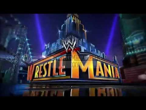 Wrestlemania 29 Intro Graphics with Music Instrumental