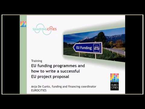Webinar - Basic training: European funding programmes for lo