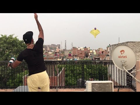 when desi boy flies a kite | kite flying tricks