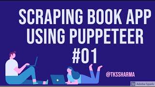 Scraping Book Website using Puppeteer    Part 1 #04