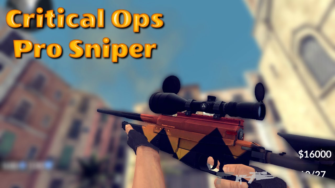 how to be a pro sniper