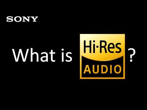 What is Hi-Res Audio? 甚麼是高解析度音訊?