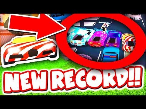 MOST BUGATTI'S IN ONE ROBLOX JAILBREAK GAME!! *30 CARS*