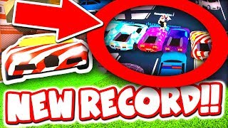 MOST BUGATTI'S IN ONE ROBLOX JAILBREAK GAME!! *30 CARS*
