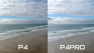 PHANTOM 4 PRO vs. PHANTOM 4 - Footage Comparison