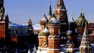 3D рельефная карта «Россия» с панорамным эффектом