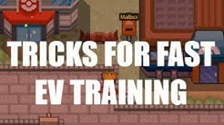 5 Tricks For FAST EV training - (Pokemon Revolution Online)