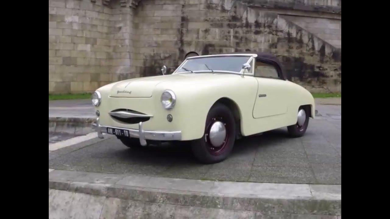 Bien connu La Panhard Dyna Junior Cabriolet (1954) en vidéo - YouTube UJ51