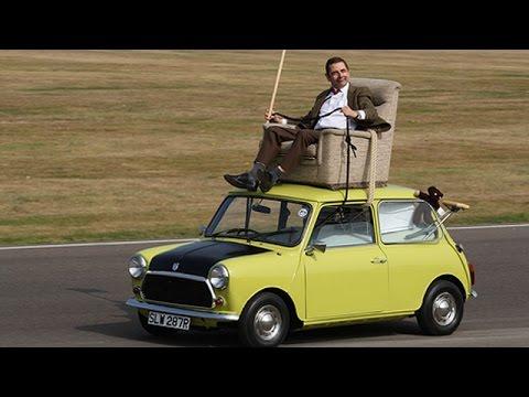 Mr Bean 25th Anniversary Rides His 1976 Mini 1000 Again Youtube
