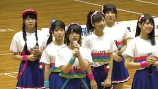 決勝大会後に行われたミニライブの様子です。 (※大阪府の府民共済SUPER...