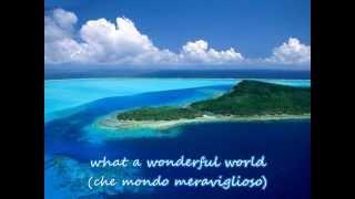 Baixar What a wonderful world (con testo e traduzione)