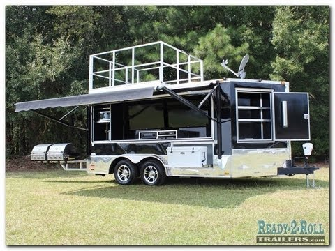 The Truly Ultimate Tailgate Trailer Taken To The Extreme ...