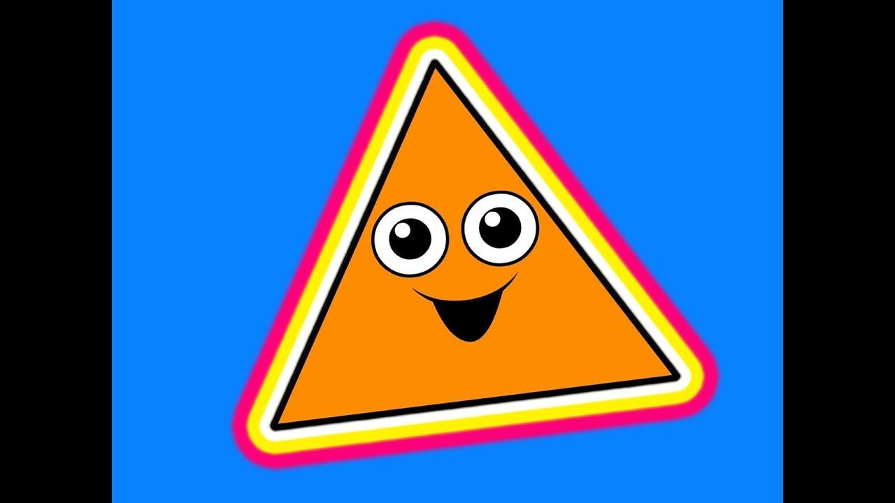 картинка треугольник для детей