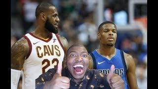 DENNIS SMITH JR TAKES ON HIS GOOD OLE FRIEND LEBRON JAMES & THE CLEVELAND CAVALIERS!