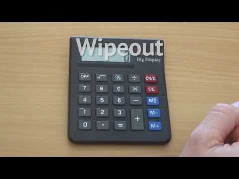 Activity: Wipeout (using a Calculator)