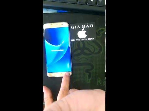 Hưỡng Dẫn Unlock Mở mạng bẻ khóa Samsung Galaxy S7 edge G935F tại Hải Phòng