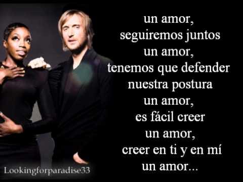 One Love David Guetta (Traduccion Al Español)