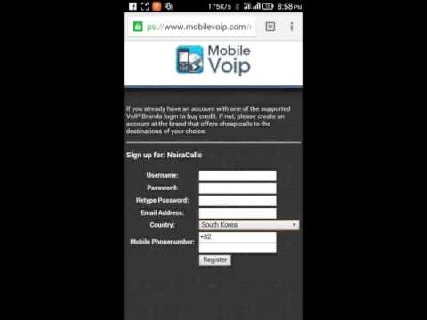 How To Create MobileVoip New ID?