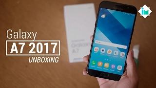 Samsung Galaxy A7 2017 - Unboxing en español
